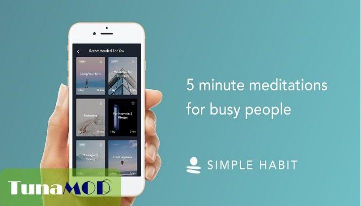 [Simple Habit Meditation] 無料で有料課金機能を使う方法