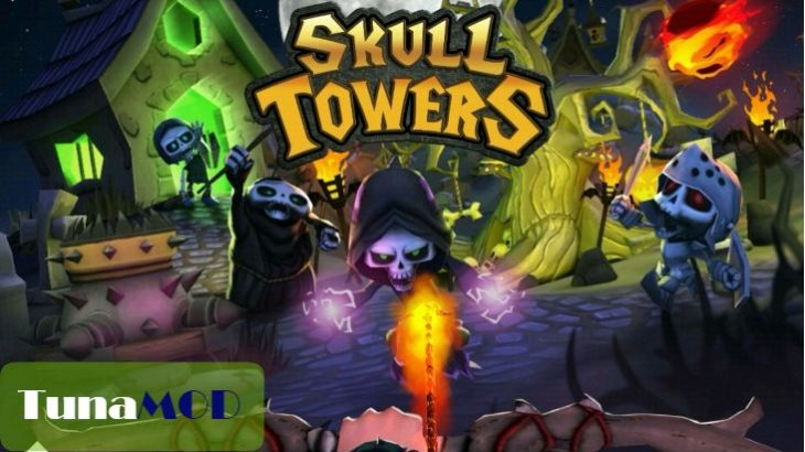 [Skull Towers] チートのやり方解説 MOD APK無料ダウンロード