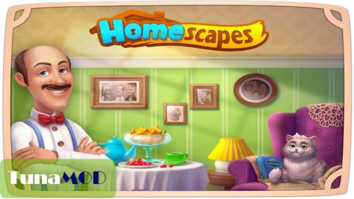 [ホームスケイプ (Homescapes)] チートのやり方解説 MOD APK無料ダウンロード