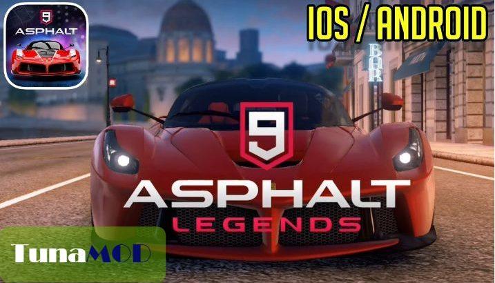 [Asphalt 9 Legends] チートのやり方解説 MOD APK 無料ダウンロード